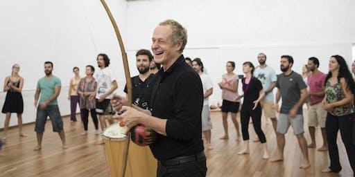 TaKeTiNa en Buenos Aires con su creador Reinhard Flatischler