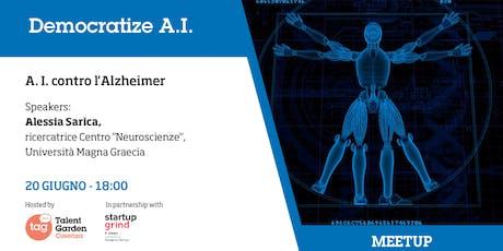 A. I. contro l'Alzheimer biglietti