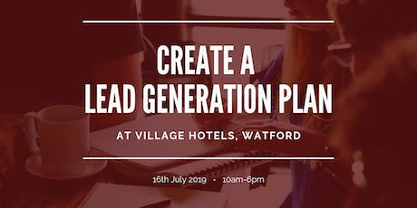 Creating a Lead Generation Plan & Client Sales Funnel tickets