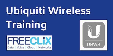 Ubiquiti Broadband Wireless Specialist Training tickets