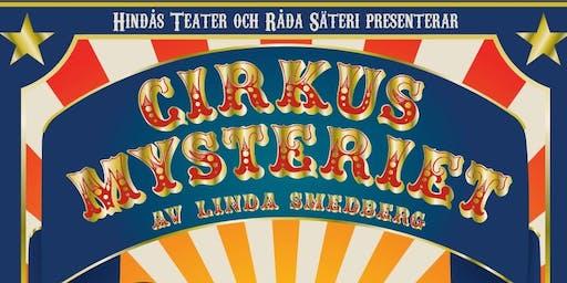 Hindås Teater ger Cirkusmysteriet i samarbete med Råda Säteri