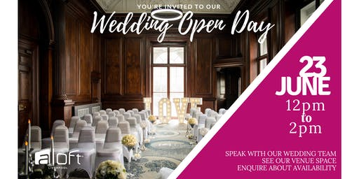 Wedding Open Day at Aloft Liverpool