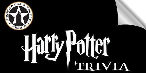 Harry Potter Book Trivia at Growler USA Austin