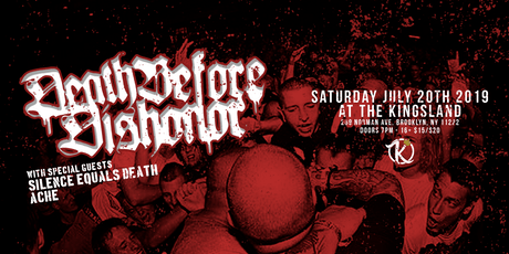 Death Before Dishonor at The Kingsland tickets