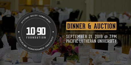 The 10 and 90 Foundation Dinner & Auction - 2019 tickets