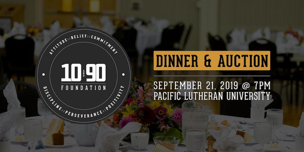The 10 and 90 Foundation Dinner & Auction - 2019