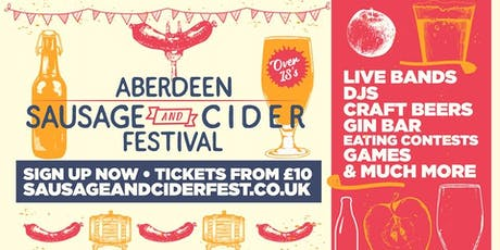 Sausage And Cider Fest Aberdeen tickets