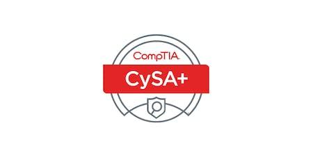 Birmingham, AL | CompTIA Cybersecurity Analyst+ (CySA+) Certification Training, includes exam (evening) tickets