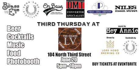 Third Thursday tickets