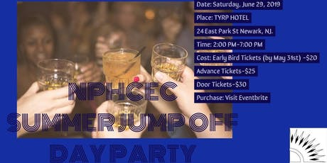 NPHCEC Summer Jump Off Day Party tickets