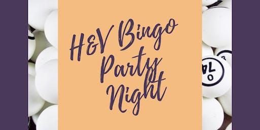 H&V Bingo Party Night!
