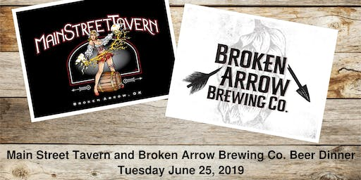 BA Brewing Beer Dinner with Main Street Tavern