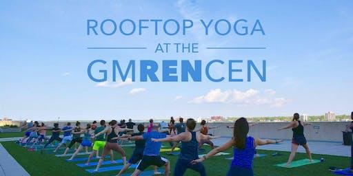 GMRENCEN Rooftop Yoga