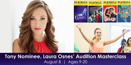 Two Time Tony Nominee, Laura Osnes Teaches Audition Masterclass tickets