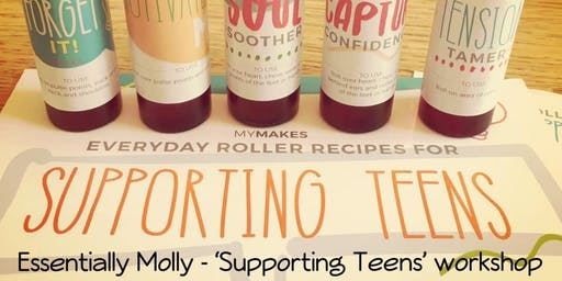 Supporting TEENS make and take with doTERRA essential oils