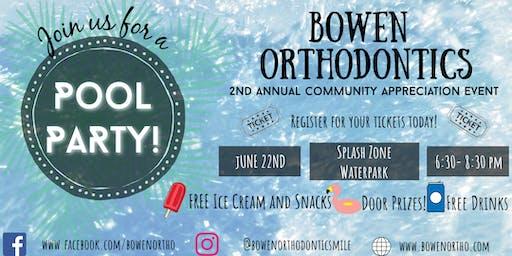 Bowen Orthodontics Community Appreciation Event
