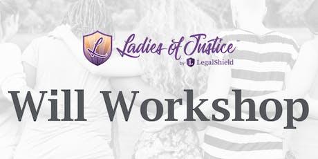 Ladies of Justice Wills & Estate Planning tickets