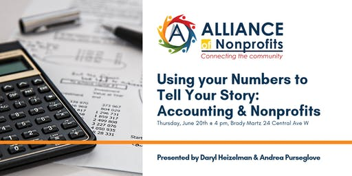 Using your Numbers to Tell Your Story: Accounting & Nonprofits