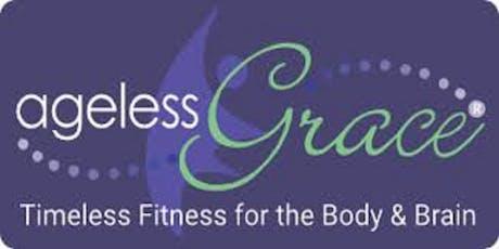 Ageless Grace:The Dynamic International Brain-Body Fitness Workout. tickets