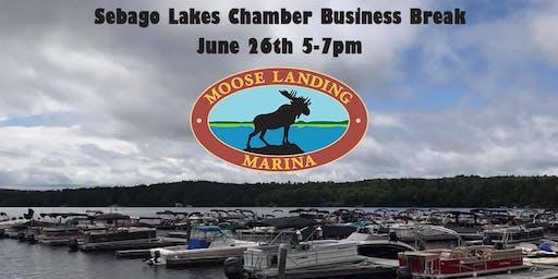 Sebago Lakes Chamber Business Break at Moose Landing Marina