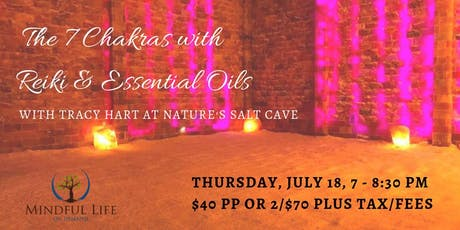 7 Chakras in the Salt Cave with Reiki & Oils with Tracy Hart tickets