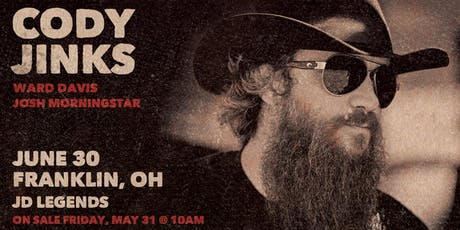 True Grit Presents Cody Jinks (All Ages) tickets