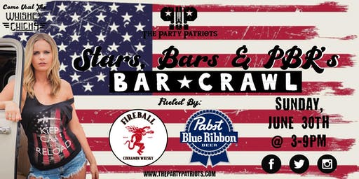 Stars, Bars & PBR'S Bar Crawl