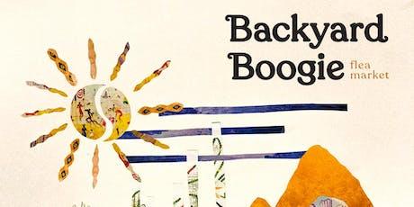 Backyard Boogie Flea Market tickets