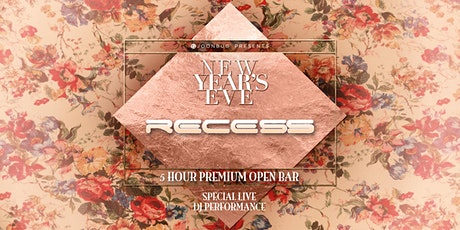 Joonbug.com Presents Recess Lounge New Years Eve Party 2020 tickets