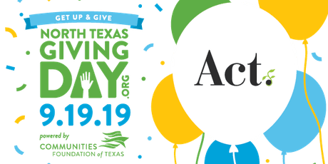 JSS - Part 3: North Texas Giving Day with Act tickets