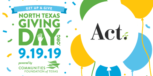 JSS - Part 3: North Texas Giving Day with Act