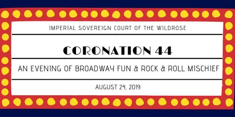 Coronation 44 - An Evening of Broadway Fun and Rock & Roll Mischief tickets