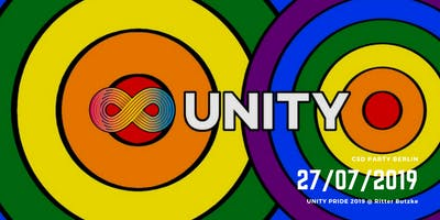 UNITY Pride 2019 • Berlin Pride Saturday Main Party 2019