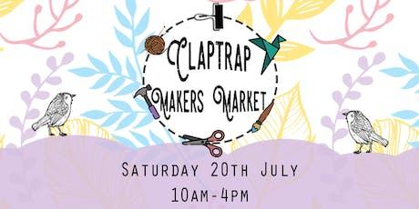 Claptrap Makers Market tickets