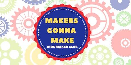 Maker Club: Wooden Village Woodworking Workshop tickets