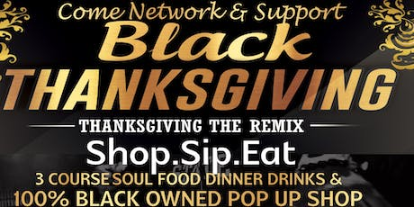 Black Thanksgiving Cooking Class tickets