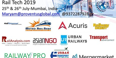 Railtech 2019 tickets