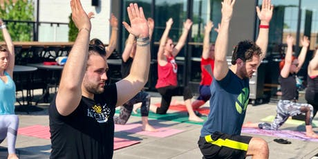 Brunch-Time Patio Yoga - [Bottoms Up! Yoga & Brew] tickets