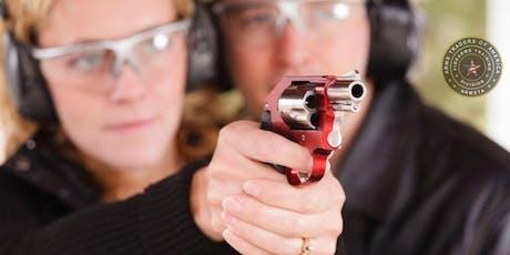 Handgun Familiarity Live Fire Shooting Course # HFLFSC tickets