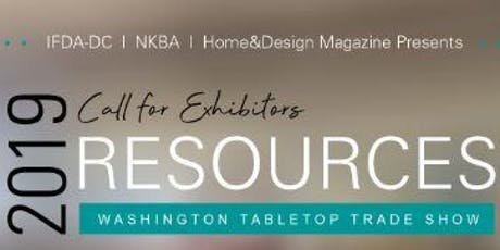 Resources 2019 Exhibitor Sign Up tickets