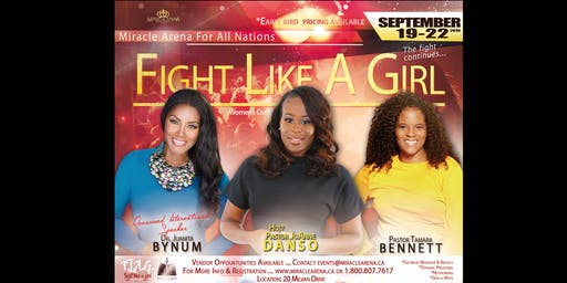 Fight Like A Girl Women's Conference 2019 - Saturday Women's ONLY Workshop