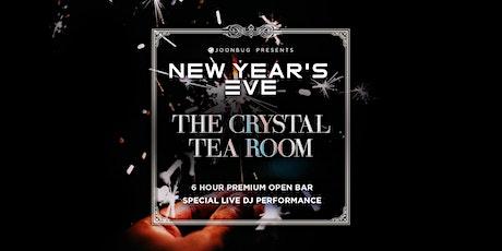 Joonbug.com Presents The Crystal Tea Room New Years Eve 2020 Party tickets