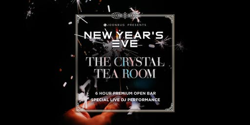 Joonbug.com Presents The Crystal Tea Room New Years Eve 2020 Party