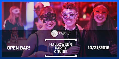 Halloween Party Cruise - Empire Cruises tickets