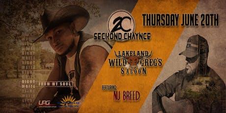 Seckond Chaynce live at Wild Greg's Saloon tickets
