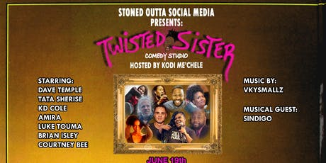 TWISTED SISTER COMEDY STUDIO tickets