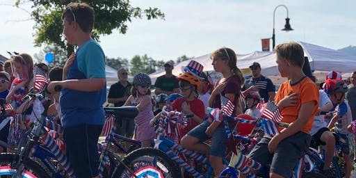 Independence Day Bike Parade at TRFM