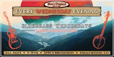 Bluegrass Wednesdays: Dave Shepherd at Moe's Original BBQ Englewood tickets