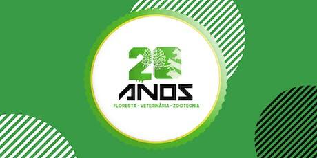20 Anos dos Cursos Floresta • Veterinária •  Zootecnia ingressos