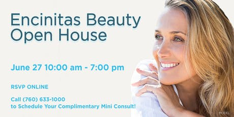 Encinitas Beauty Open House tickets